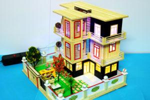 Nhà tăm tre 3 tầng N-3E