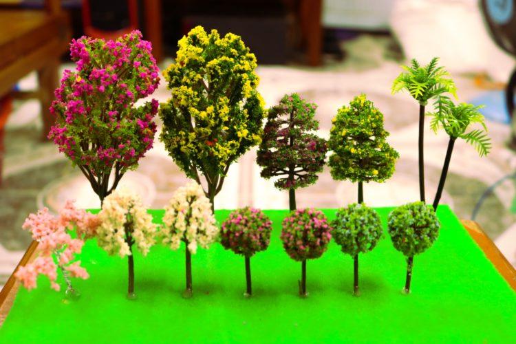 Combo 13 cây mô hình đẹp