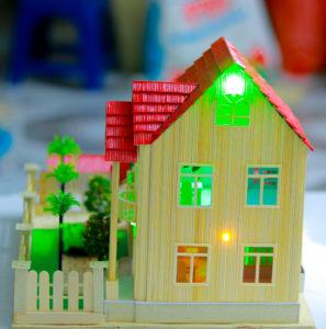 Nhà tăm tre mái thái 2 tầng N-2E
