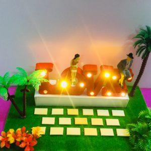 Love 3D có đèn Led