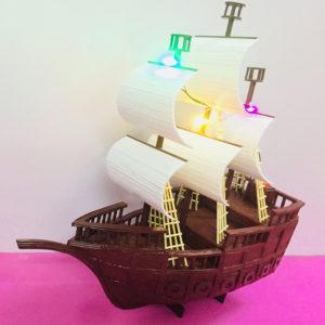 thuyền buồm bằng tăm